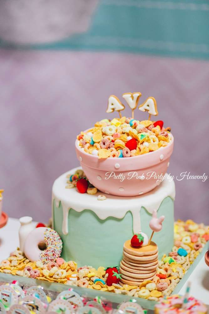 Whimsical Breakfast Themed Birthday Party Birthday Party Ideas