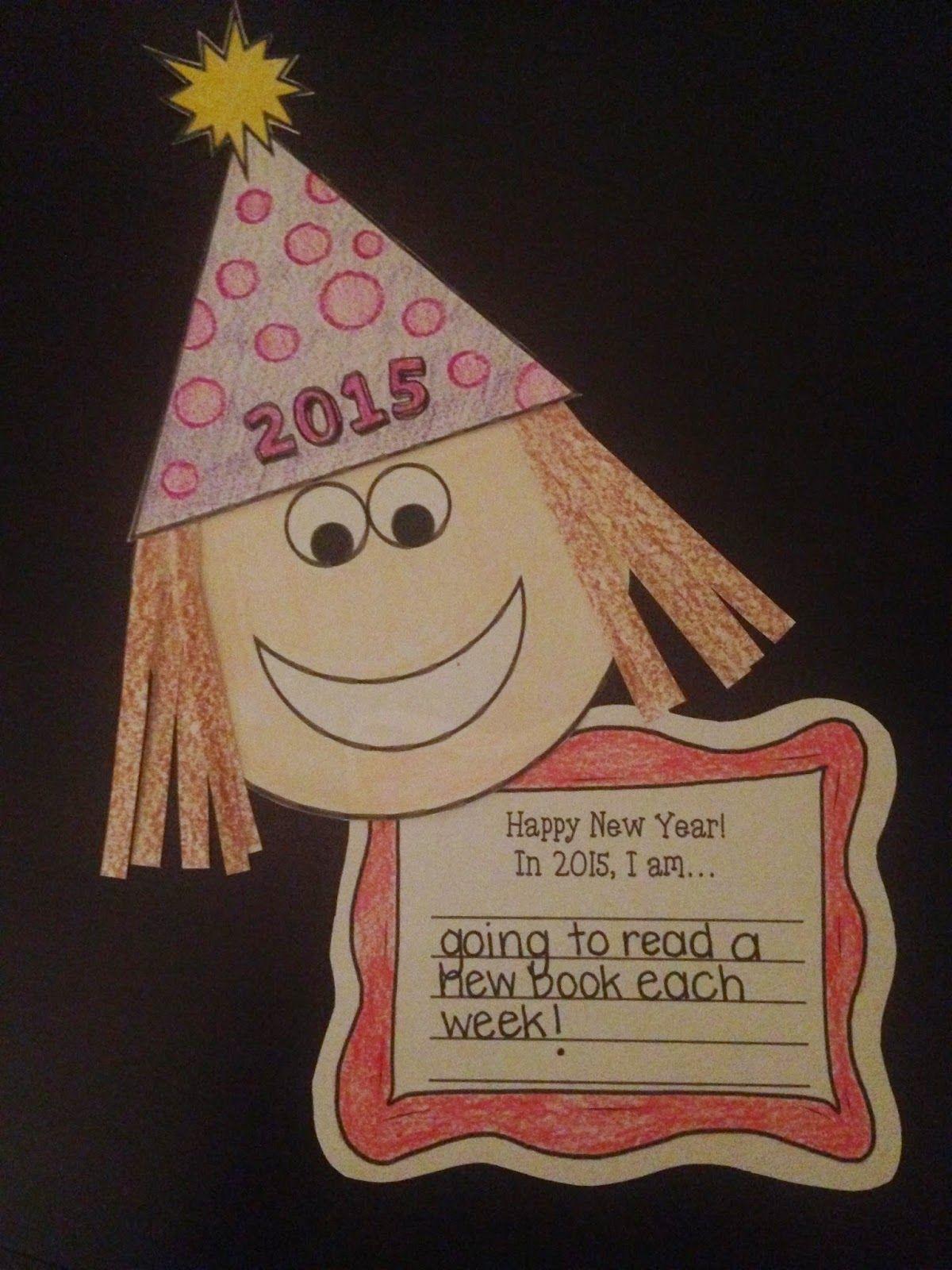 New Year Craftivity FREEBIE | Kindergarten activities, New ...