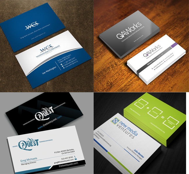 19 Creative Business Card Designs From 99designs Business Cards Creative Business Card Design Creative Unique Business Cards