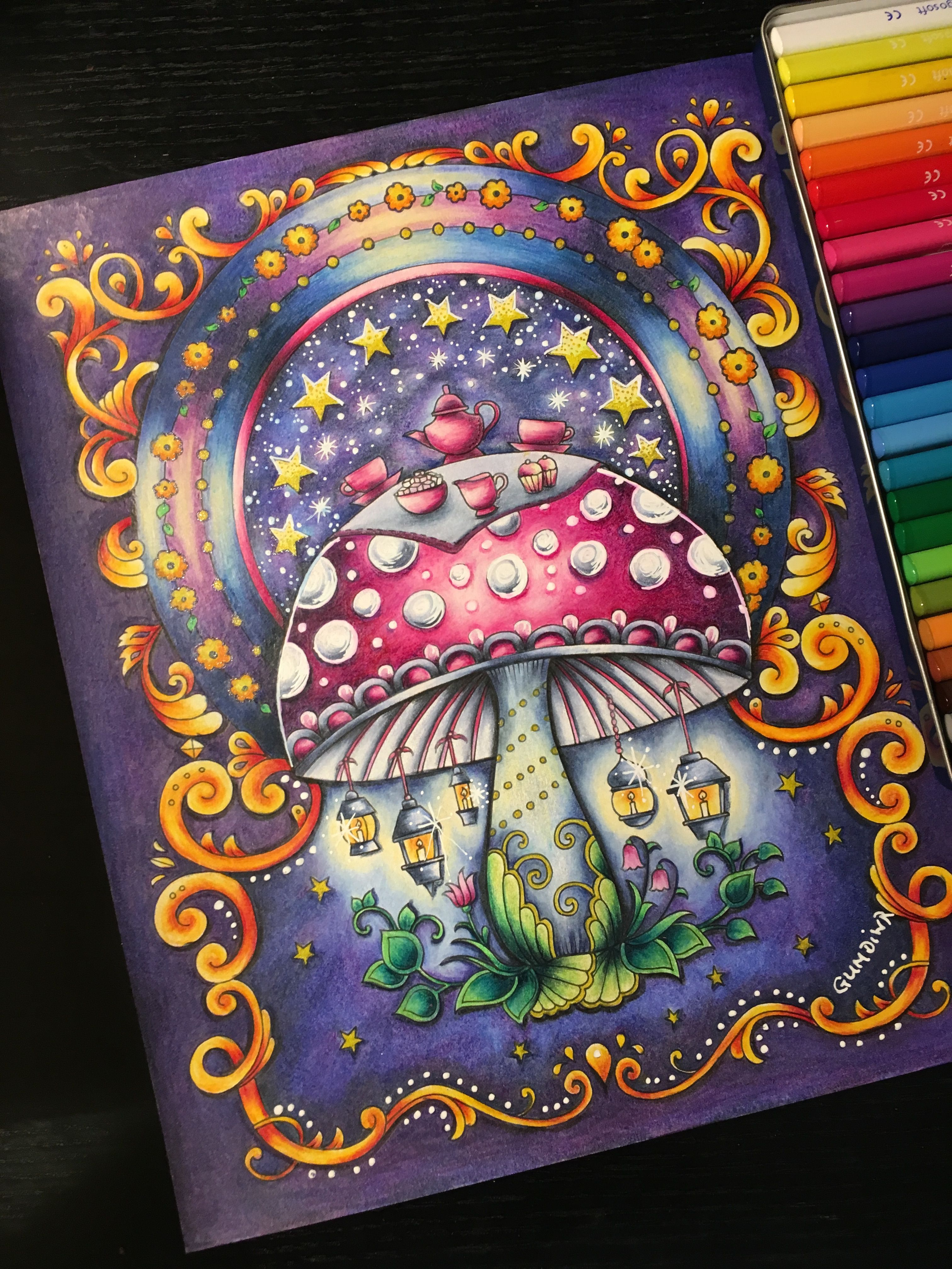 The Mushroom Page From Ivy And Inky Butterfly Johanna