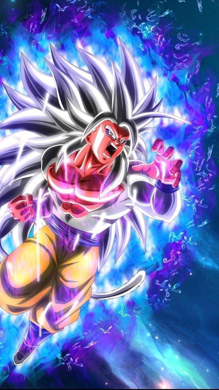 Super Saiyan 5 Goku Dragon Ball Super Artwork Dragon Ball Wallpaper Iphone Dragon Ball Art Goku