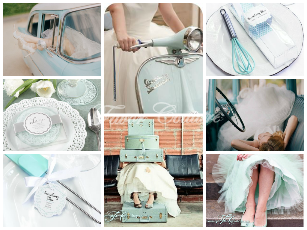 """""""Something Blue"""" Bridal Shower Favors favorcouture ..."""