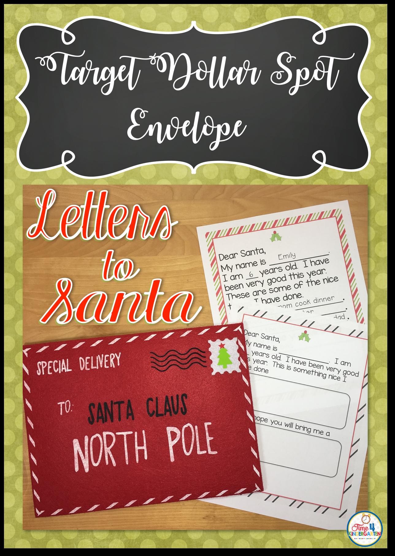 Letters to Santa Claus Santa letter, Lettering, Envelope
