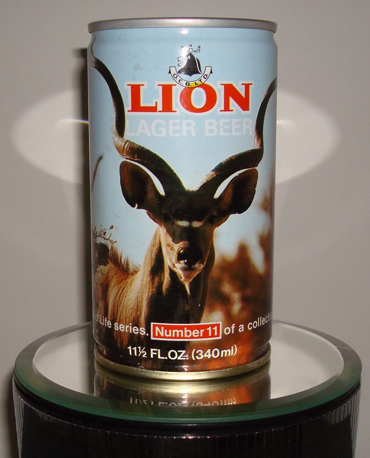 Lion Lager Beer from South Africa
