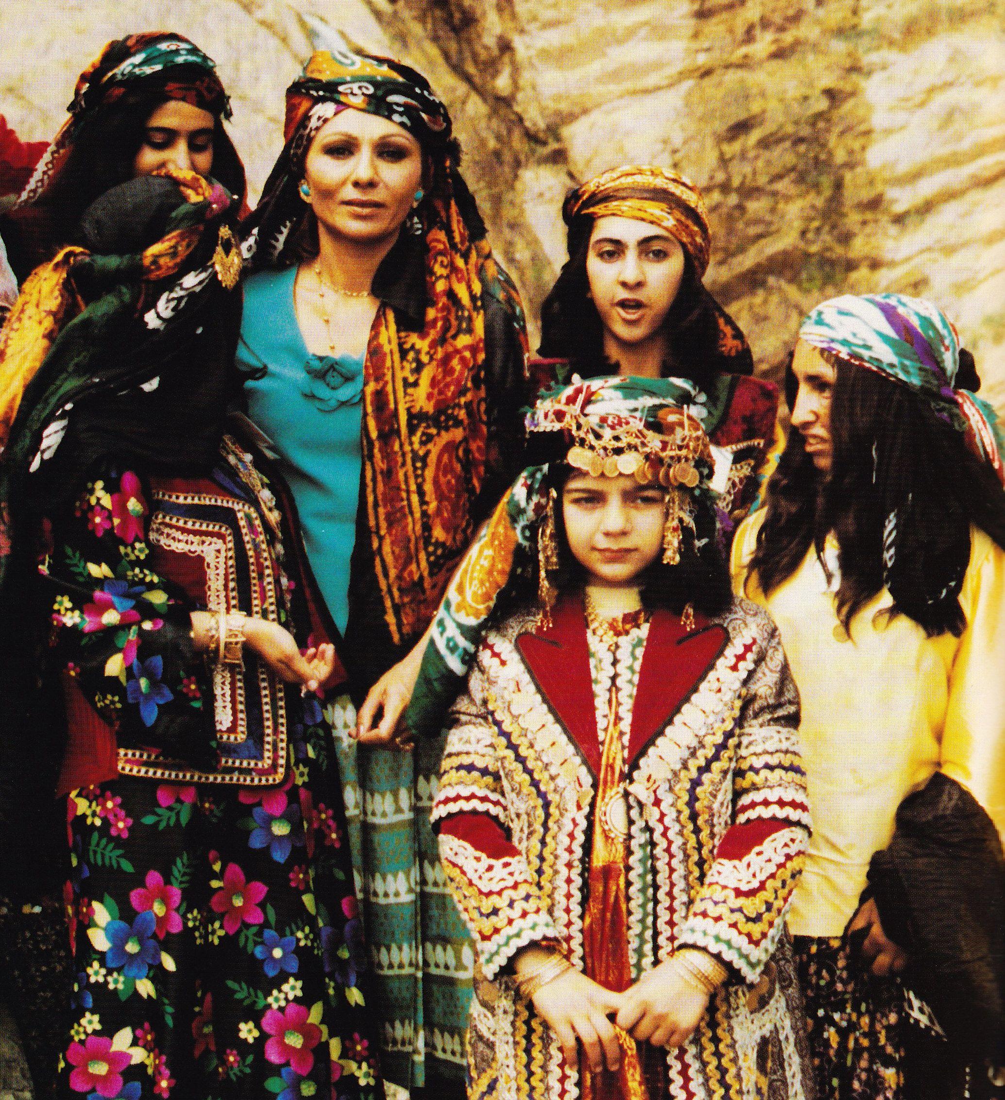 Shabanu Farah Pahlavi visits Lorestan, Iran - 1975