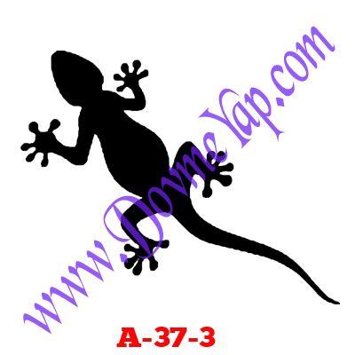 Kertenkele Geçici Dövme Şablon Örneği Model No: A-37-3