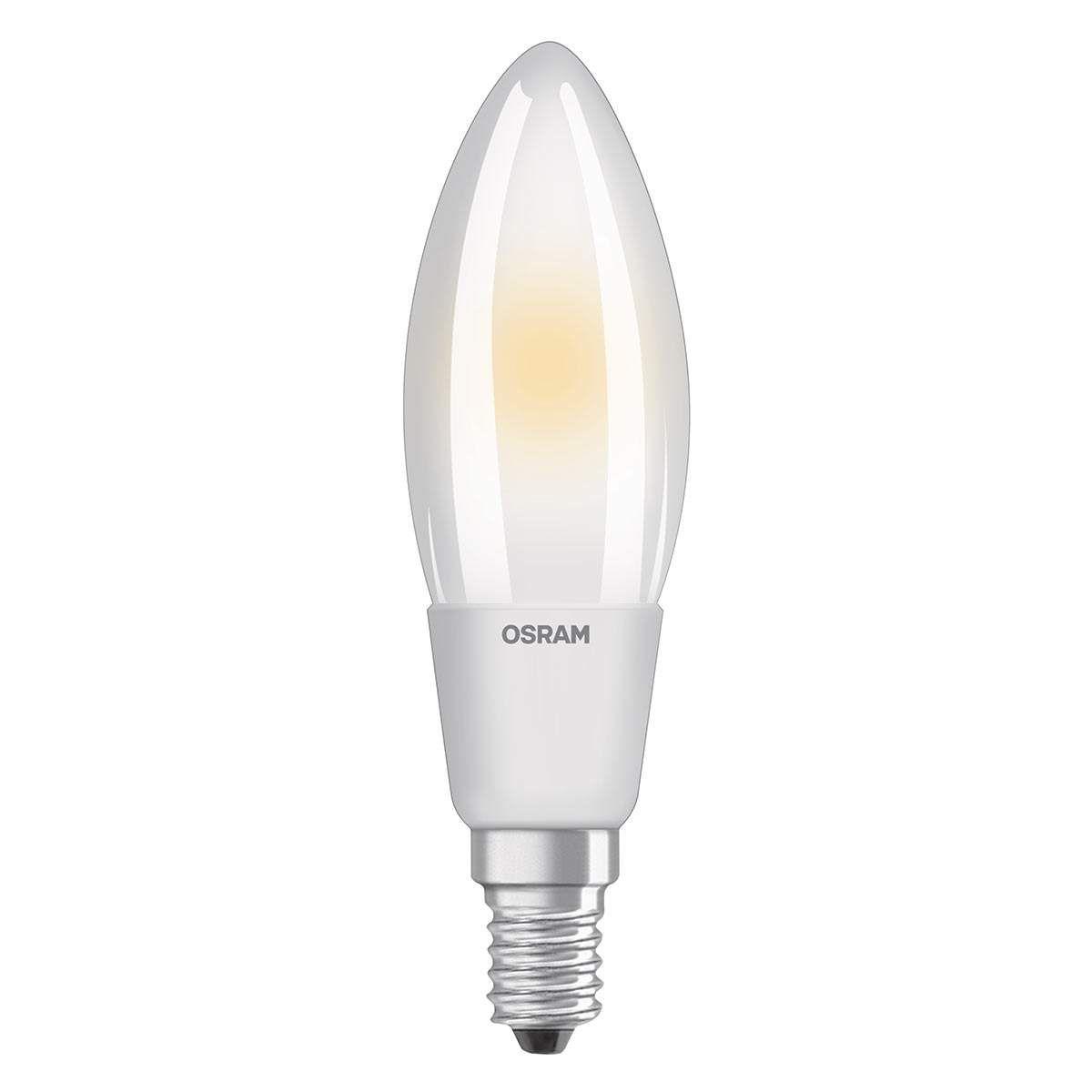 Led Lampe E14 5w 827 Led Kerzenlampe Von Osram Led Kerzen Led