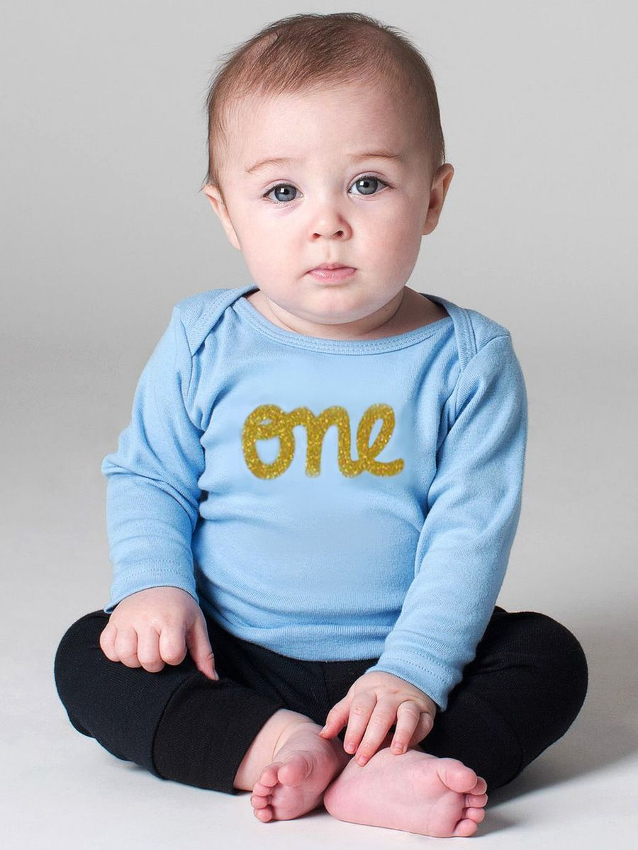 Baby boy 1st birthday blue onesie baby boy t shirt 1st