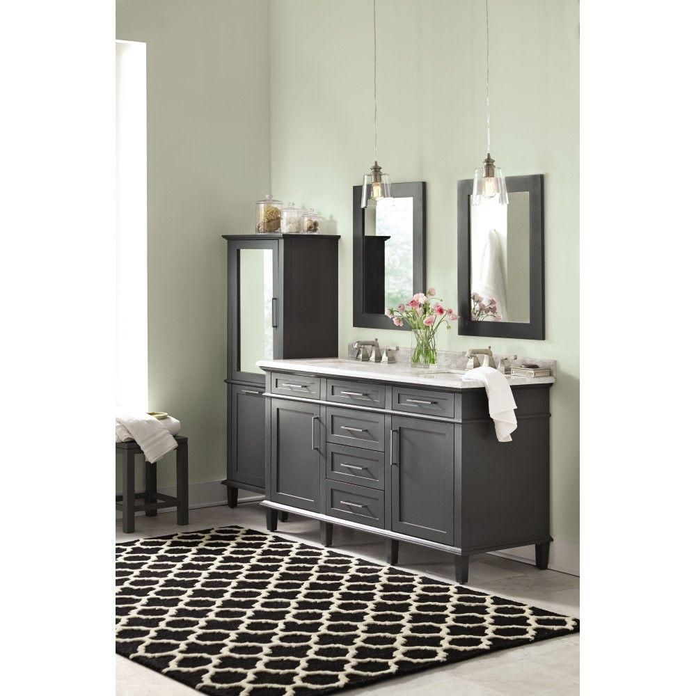 top sassy white the carrara marble depot null in with vanity home pin
