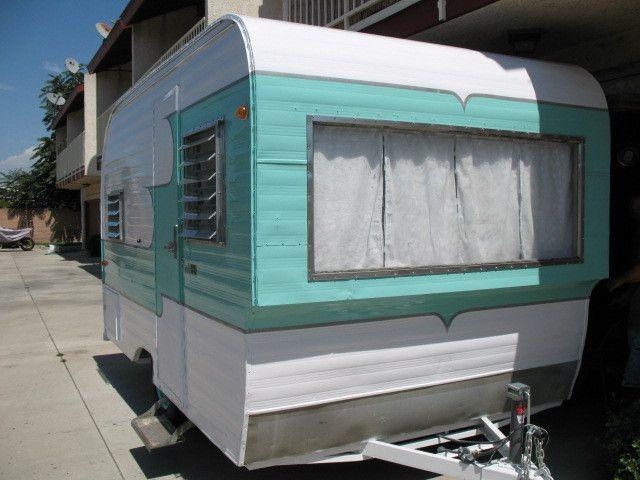 1961 Oasis travel Vintage Trailer Camper Canned Ham in RVs