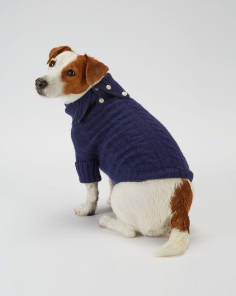Cabled Cashmere Dog Sweater Ralph Lauren Pet Shop All Sale