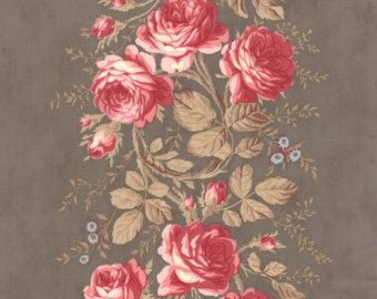 shabby chic toile fabric - Google Search