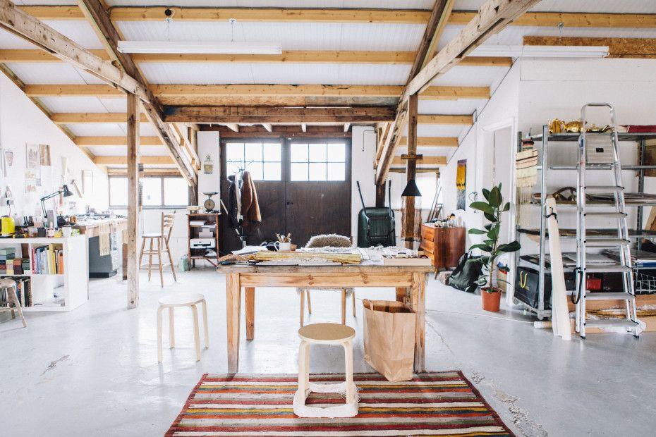 Freunde von Freunden Justine Ashlee studio in