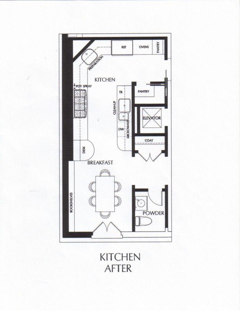 small kitchen galley floor plans   My Kitchen / My cocina ...