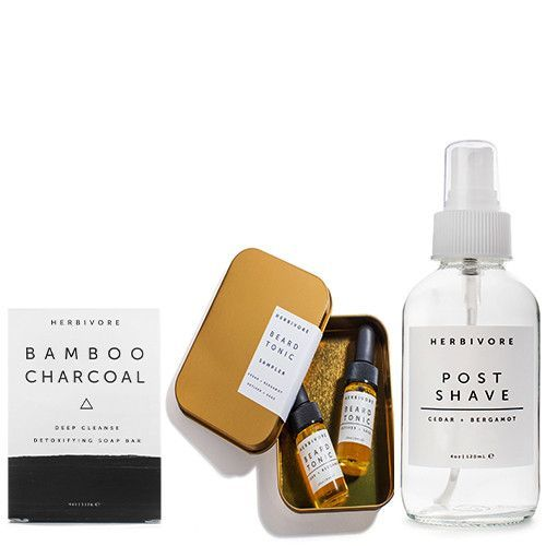 HERBIVORE BOTANICALS | Mens Skin and Beard Trio