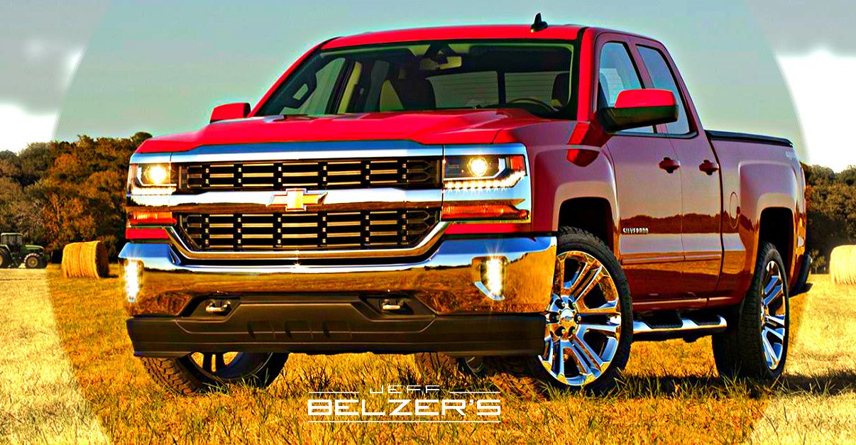 2016 Chevy Silverado Meet The New Face Of Strong Lifted Chevy