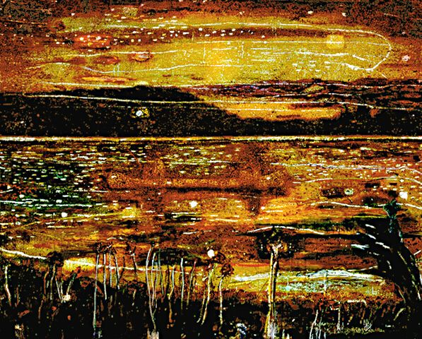 Peter Doig 'Night Fishing'