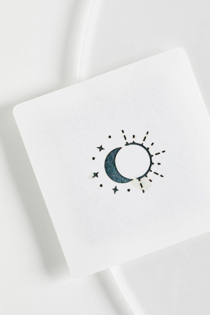 tatouage éphémère idée dessin modèle soleil lune ,  #dessin #ephemere #modele #soleil #tatouage,  #Tattoo, Tattoo