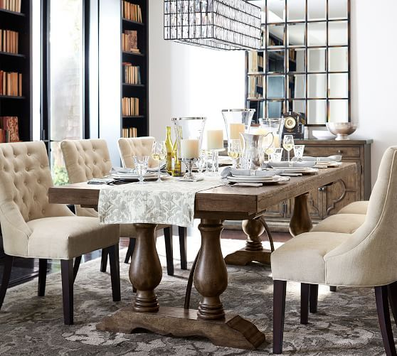 35+ Tufted dining chairs and table Best Choice