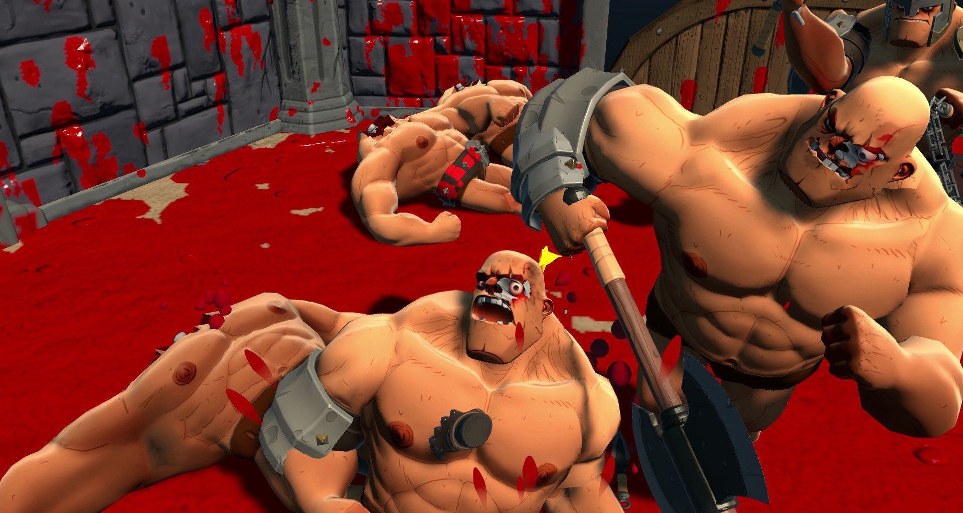Ass Perfect Video gorn is the perfect name for this ridiculous gladiator sim
