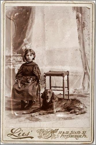 Vintage Doggy: Kids and Dogs