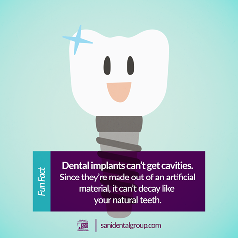 Dental implants have a lot of advantages, the next one is just one more!