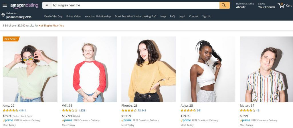 Photo of Single? Try Amazon Dating with Prime