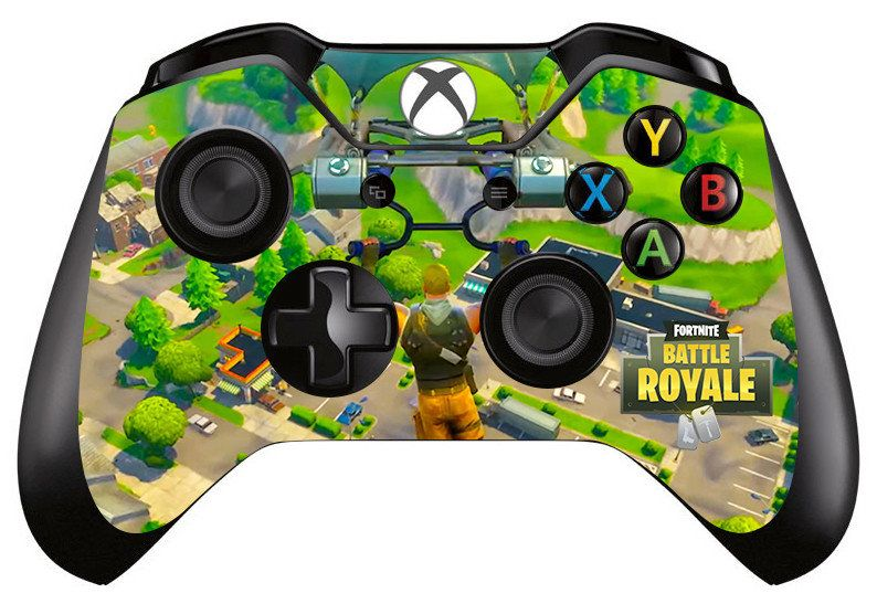 Fortnite Skin Sticker Decal For Microsoft Xbox One Game Controller