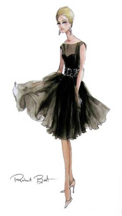(I think this is a Barbie illustration.) lbd