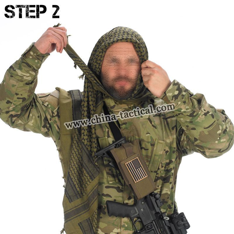 multicam shemagh | Tactical Shemagh Arab Scrim Scarf Face