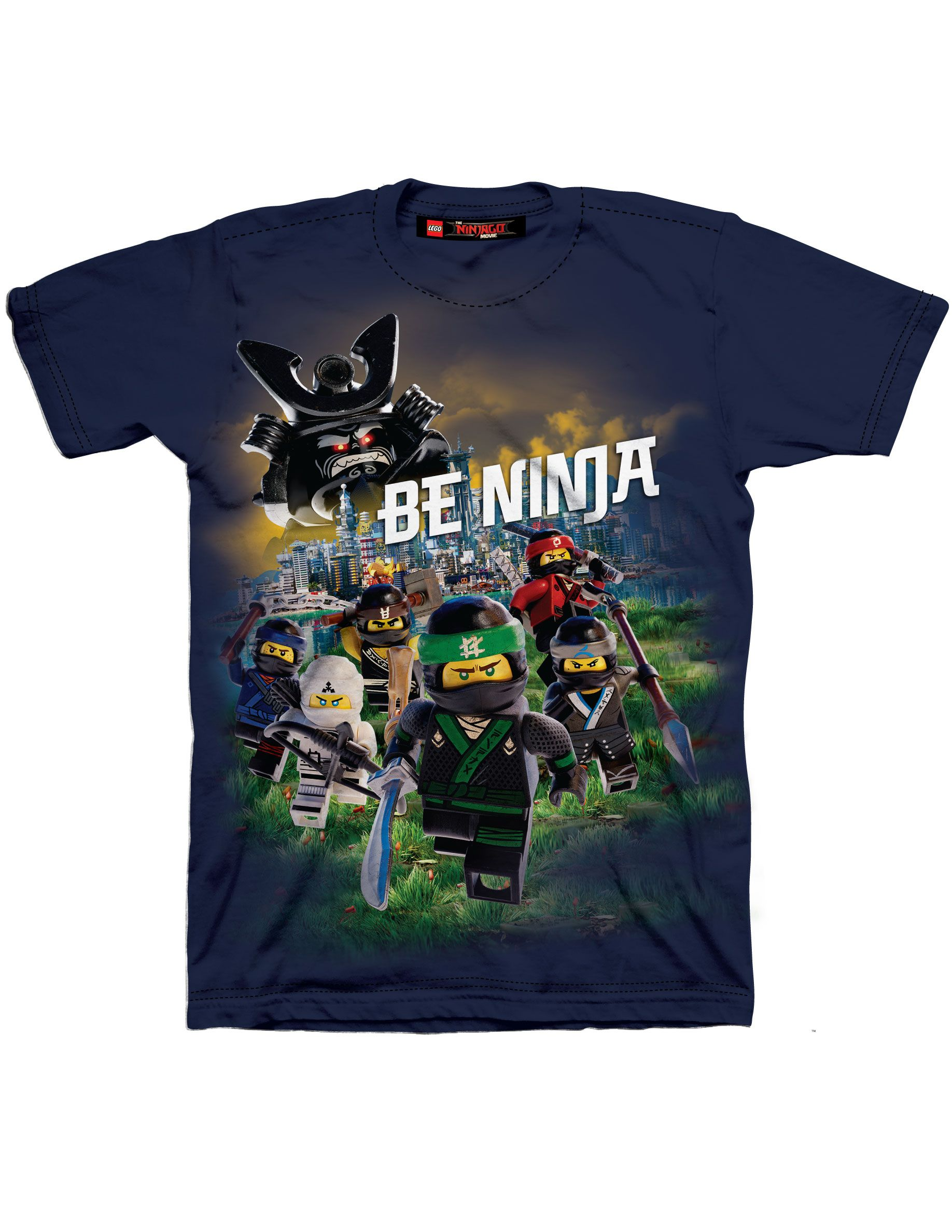Buy Lego Ninjago Movie Boys Be A Ninja T Shirt At Walmart
