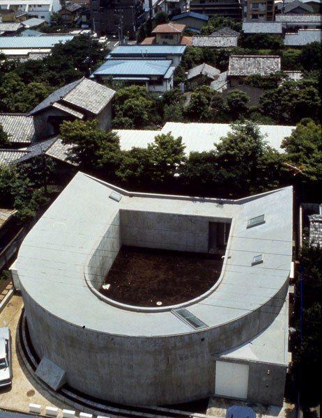 White U (house), 1975–76, Nakano-ku, Tokyo, Japan.