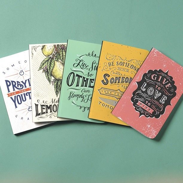 Cool Notebook Cover Designs ~ Many of our sevenly print designs made it onto the covers