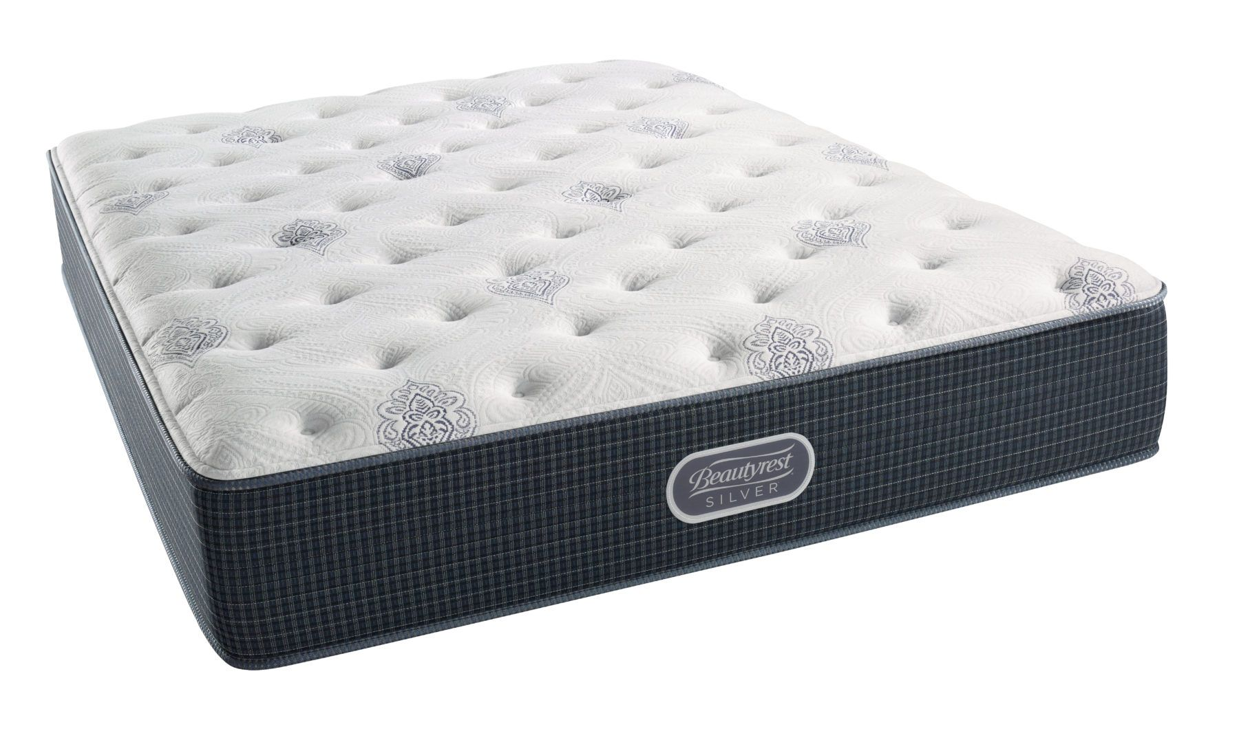 Beautyrest Silver Middleton Cay Plush Mattress Dualcool