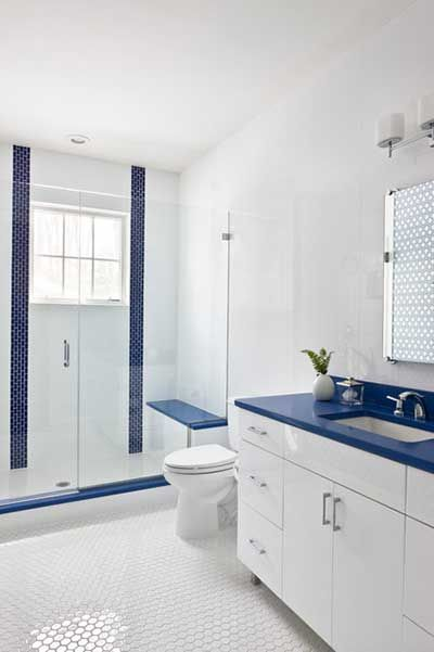 Blue White Bathrooms Bathrooms White New Weiße