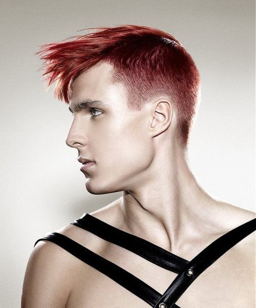 top classy punk frisuren für männer, #
