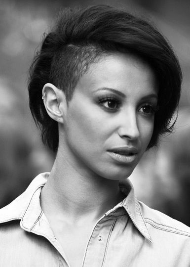 Admirable 1000 Images About Shaved Side Hairstyles On Pinterest Short Hairstyles For Black Women Fulllsitofus