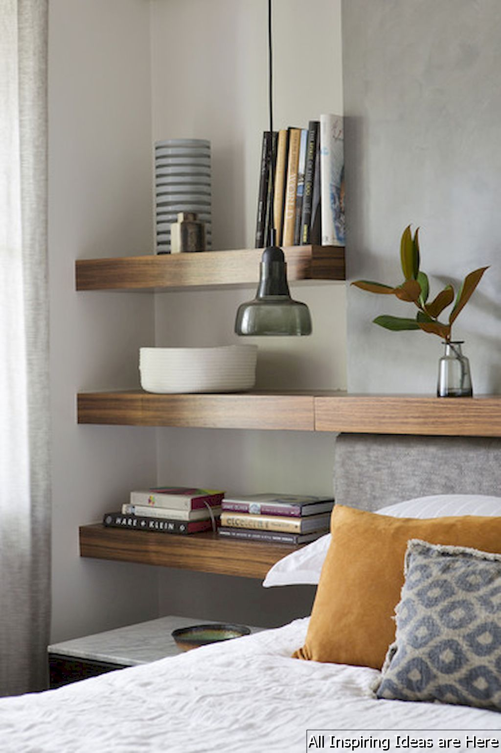 remarkable bedroom wall shelves ideas | 65 Simple Bedroom Shelves Design Ideas | Bedroom Design ...