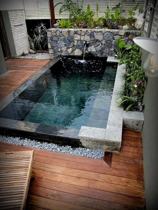 16 Best Creative Small Swimming Pool Design For Backyard Inspiration 7 If You Are Too Often Swimming Pools Backyard Small Backyard Pools Backyard Pool Designs