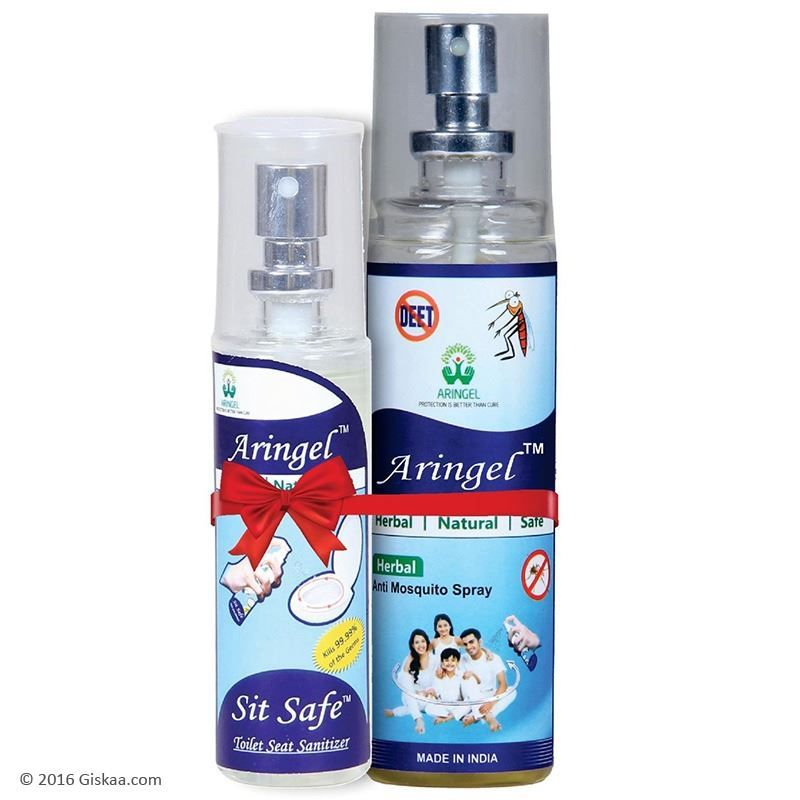Aringel Anti Mosquito Spray 100ml With Sit Safe Toilet Seat