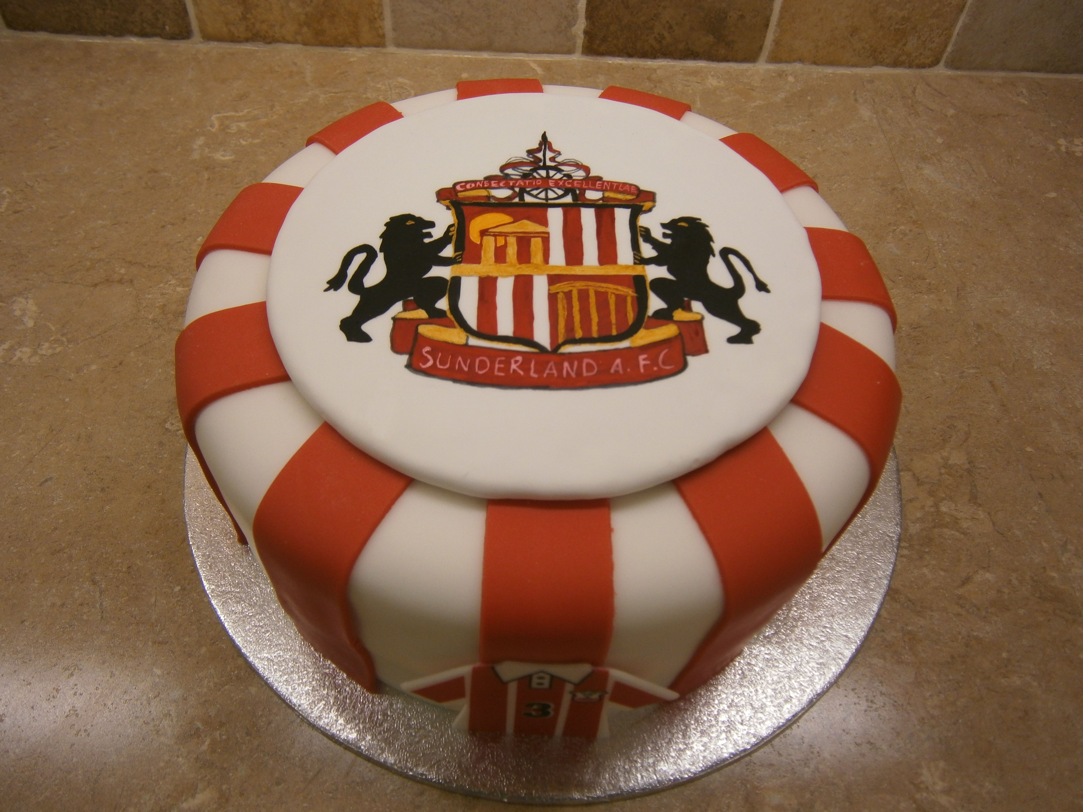 Sunderland Football Club My Cake Creations In 2019