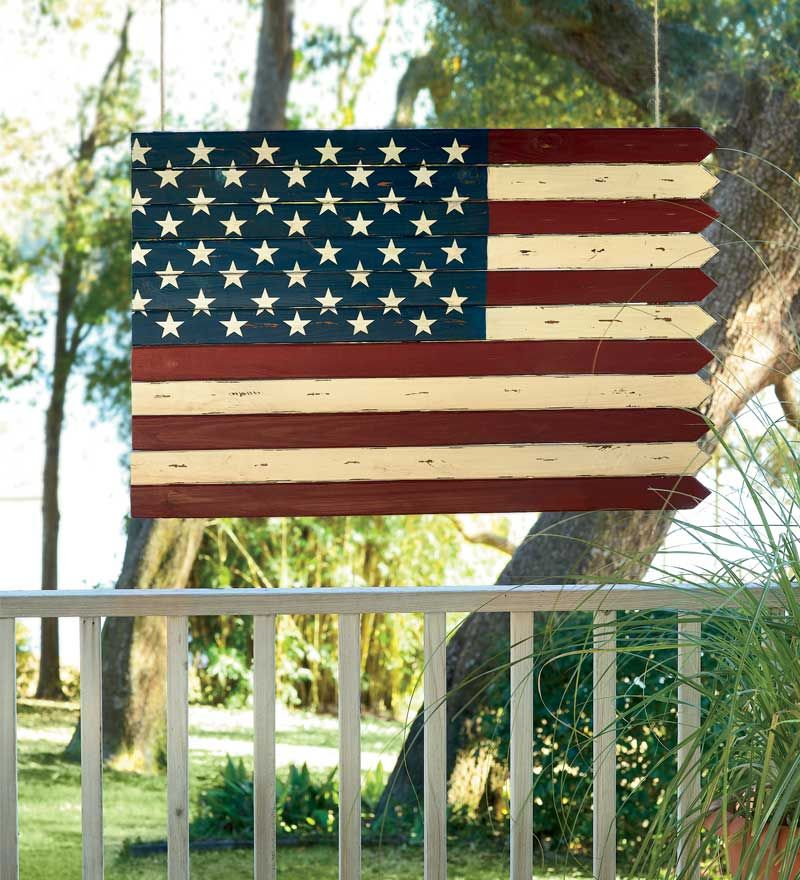 Wooden Americana Flag Inspired Accent I M Not Proud Of
