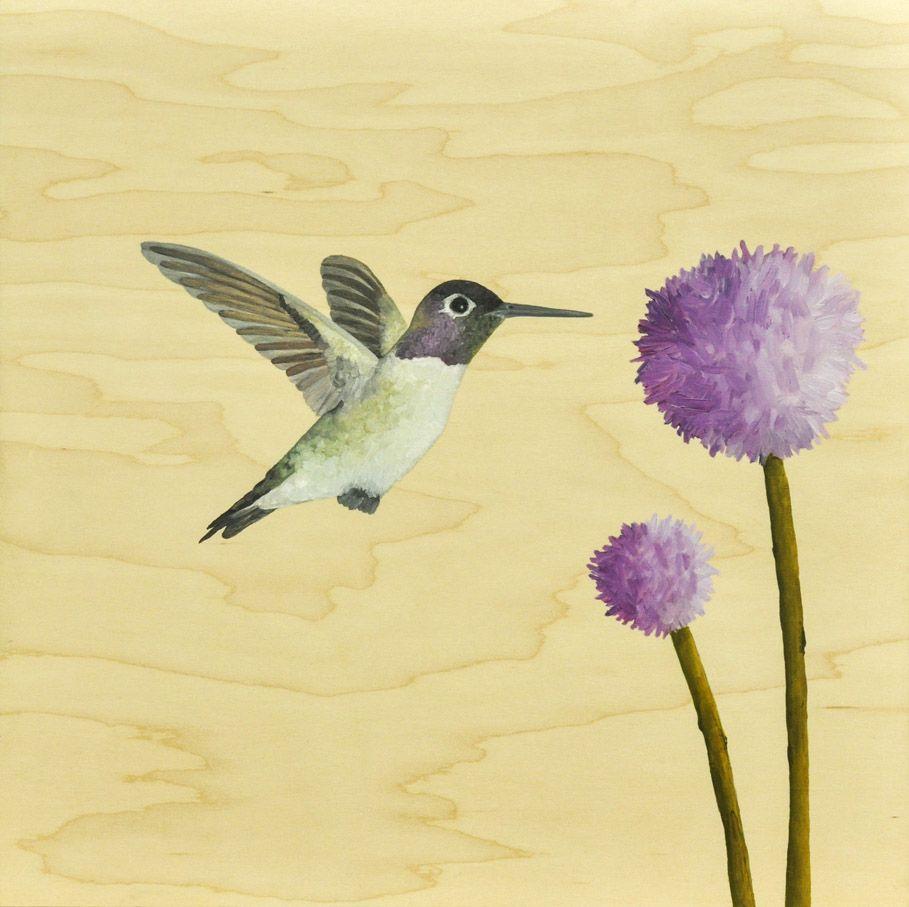 Simple Hummingbird Painting Hummingbird Painting Simple ...