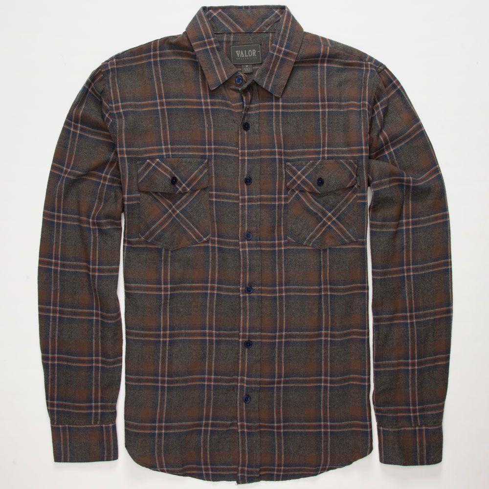 VALOR Tristan Mens Flannel Shirt