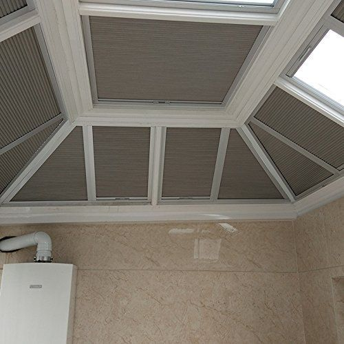Manual/Motorized Skylight Roof Window Cellular Honeycomb
