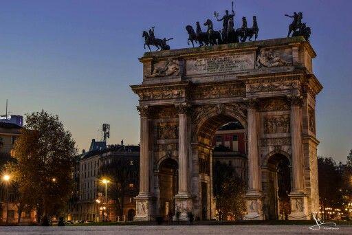 Milano: Arco deloa Pace.