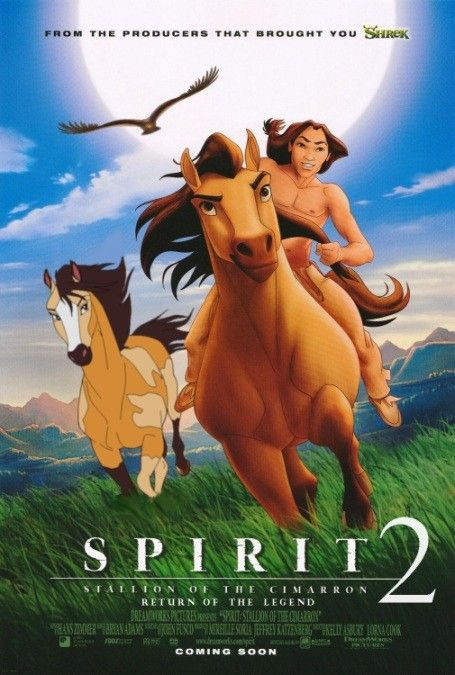 Spirit 2 Horse Movies Cimarron Childhood Movies