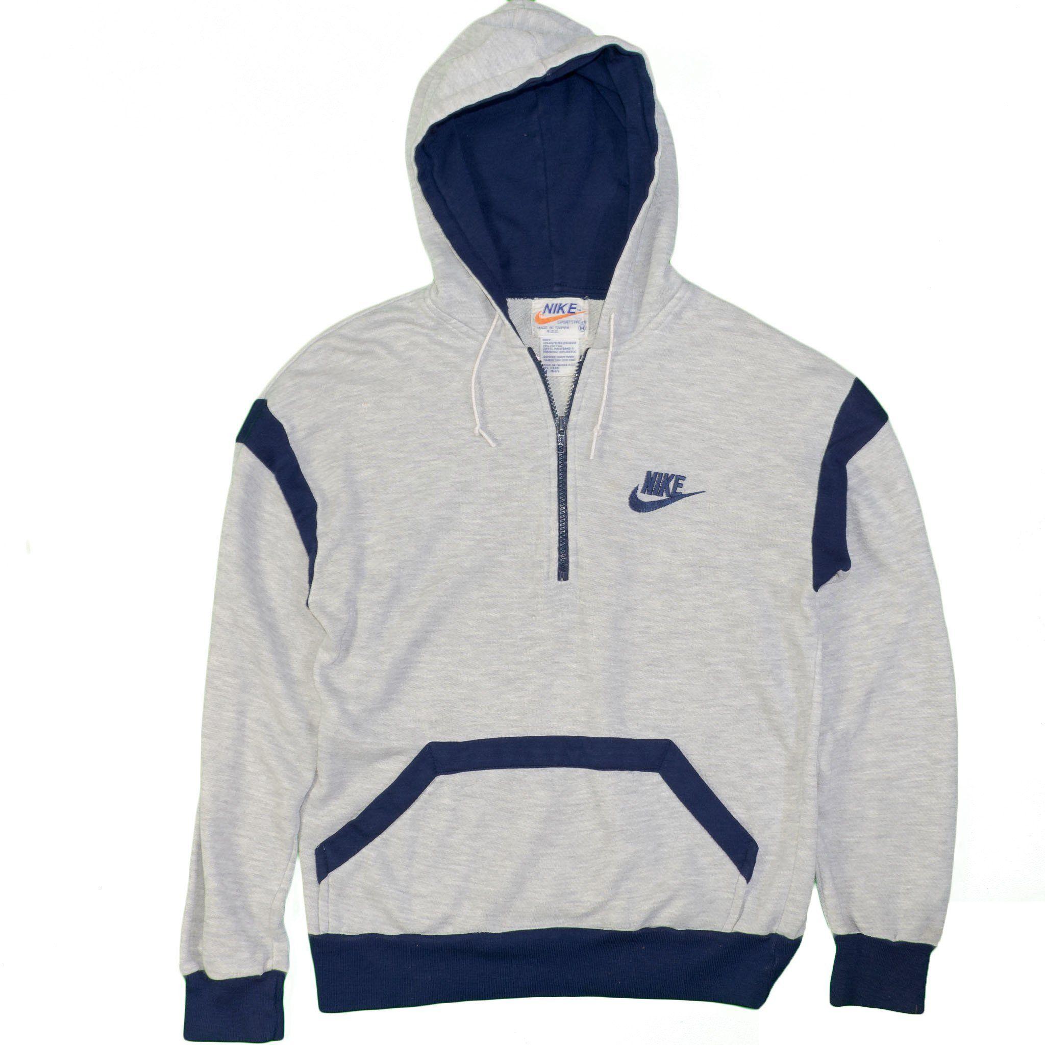 Vintage Nike Hoodie Sweatshirt 70 S 80 S Vintage Gray Medium 1 4 Zip Long Sleeve Itisvintage Nike Nikespo Sweatshirts Vintage Nike Sweatshirt Vintage Nike [ 2048 x 2048 Pixel ]
