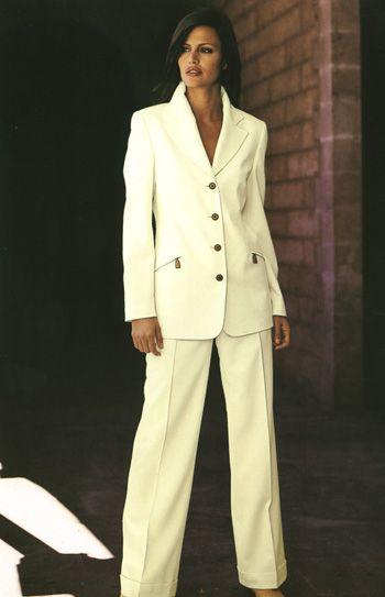 ladies pant suit