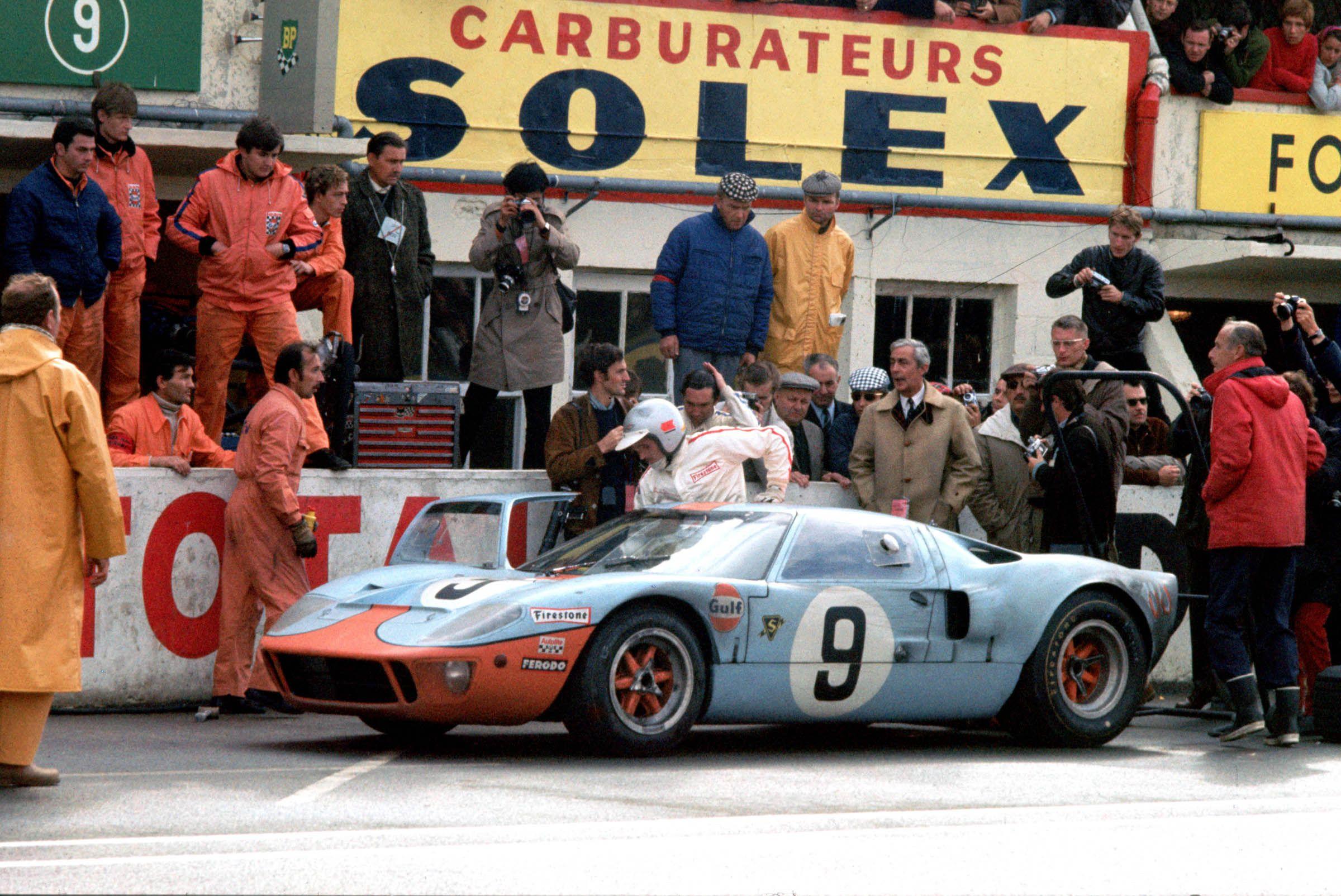 1968 Le Mans Ford Gt40 Ford Gt Gt40 Le Mans
